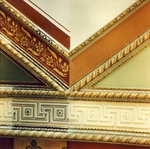 Aula - vor der Restaurierung, 1994, Halle/S.