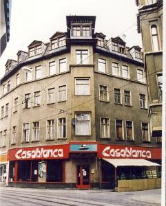 Große Ulrichstraße 40 vor der Sanierung 1992, Halle/S.