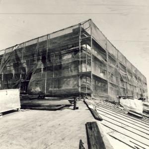 Universtitäts-Hauptgebäude vor 1990, Halle/S.