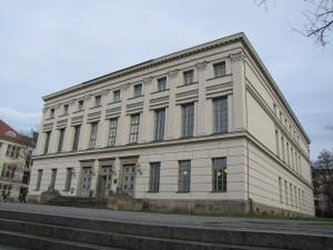 Universtitäts-Hauptgebäude nach der Sanierung, Halle/S.