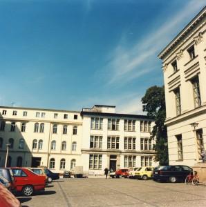 Universitätsplatz vor 1990, Halle/S.