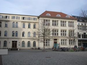 Universitätsplatz nach der Sanierung, Halle/S.