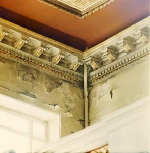 Aula - vor der Restaurierung 1994, Halle/S.