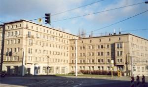 Delitzscher Straße / Freiimfelder Straße vor der Sanierung 2012, Halle/S.