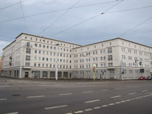 Delitzscher Straße/Freiimfelder Straße nach der Sanierung, Halle/S.
