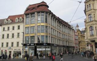 Halle/Saale Markt – Glanz in Gold und natürlichen Farben